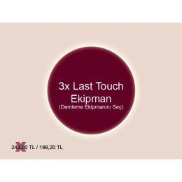 3x Last Touch Ekipman