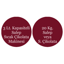 Salep & Sıcak Çikolata Makinesi Paketi