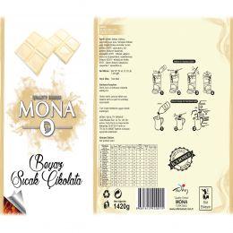 Mona Gurme Beyaz Sıcak Çikolata