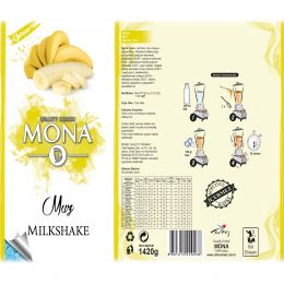 Mona Gurme Muz Meyve Taneli Smoothie