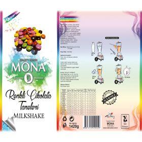 Mona Gurme Renkli Çikolata Taneli Smoothie
