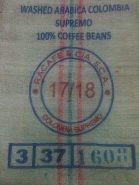 Colombia Supremo - Toptan Çiğ Kahve