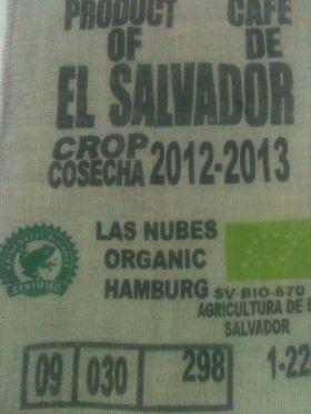 El Salvador Las Nubes - Toptan Çiğ Kahve